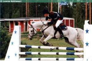Beshmet competing with Sanna Siltakorpi