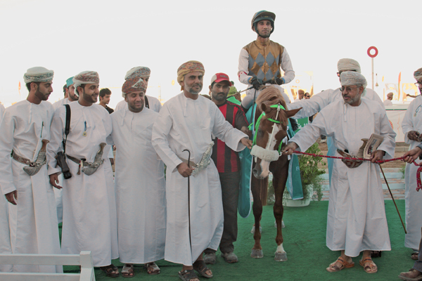 Arkan, 2015 WAHO Trophy Winner of Oman